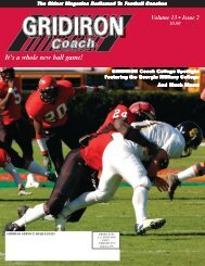 GRIDIRON Coach College Spotlight - Fast and Furious Football