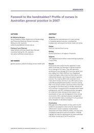 Farewell to the handmaiden? - Australian Journal of Advanced ...