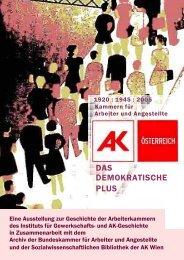 Ausstellungstafeln (pdf 4,7 mb) - Arbeiterkammer Wien