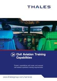 Civil Aviation Training Capabilities - Customer Online