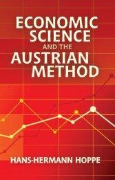 Economic Science and the Austrian Method_3