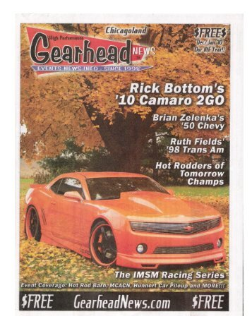 Page 1 Page 2 Www.gearheadnews.C0m 1nd ma igit Garage di the ...