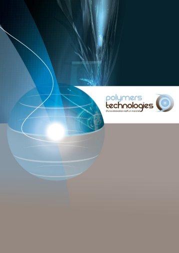 La plaquette de l'association Polymers Technologies - (CCI) d'Alençon
