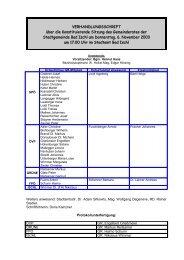 2003-11-06 Konstituierung (177 KB) - .PDF - Stadtgemeinde Bad Ischl