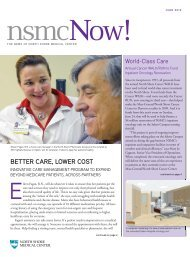NSMC Now June 2012 - North Shore Medical Center - Partners ...