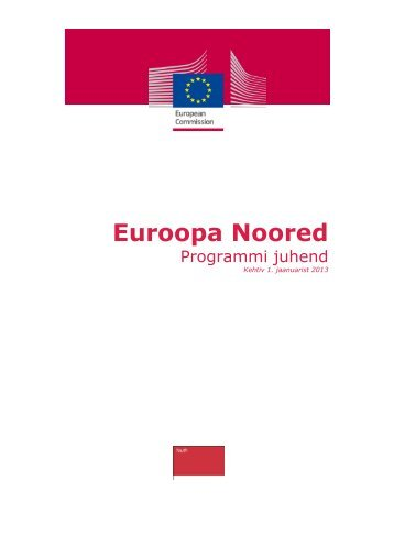 Euroopa Noored - European Commission - Europa