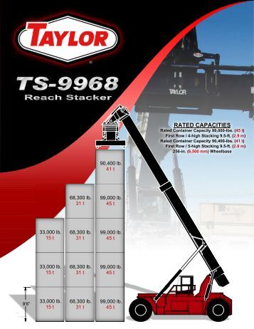 information about Taylor's New TS-9968 - Taylor Machine Works