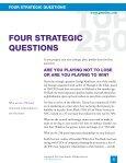 FOUR STRATEGIC QUESTIONS - Gazelles - Page 2