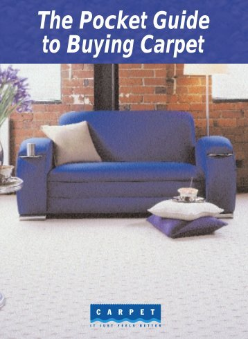 The Pocket Guide to Buying Carpet - Carpet Institute of Australia