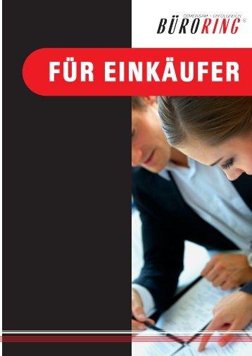 """Büroring Leistungsbroschüre """"Für Einkäufer"""" - BMC-Marketing"""