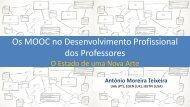 Os MOOC no Desenvolvimento Profissional dos Professores - ERTE