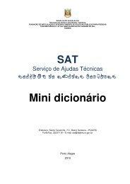 Mini dicionário - Faders