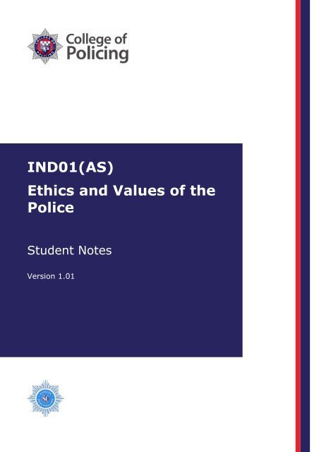 Ethics and values - Kent Police