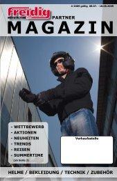 partner helme / bekleidung / technik / zubehör - Velos-Motos Keller