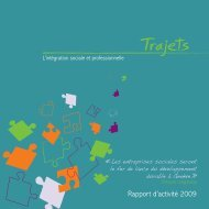 Rapport d'activité 2009