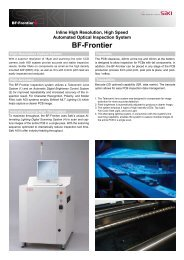 SAKI AOI System Model BF-Frontier PDF Brochure - HDI Solutions