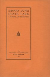 Indiana Dunes State Park: A History and Description - Porter County ...