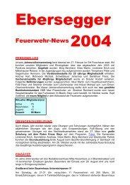 Ebersegger News 2004 - Seniorenbund Steyr Land