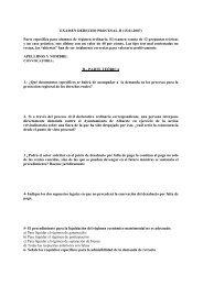 EXAMEN DERECHO PROCESAL II (15