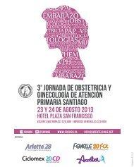 Programa - Sociedad Chilena de Obstetricia y Ginecología