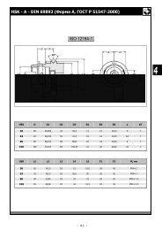 Оправки с хвостовиком по HSK DIN 63893