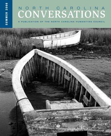 North Carolina Conversations Summer-Fall 2008.pdf