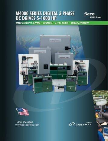 m4000 series digital dc drive