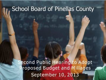 School Board of Pinellas County - PCSB Newsroom