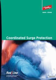 Coordinated Surge Protection