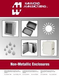 Non-Metallic Enclosures - Hammond Mfg.