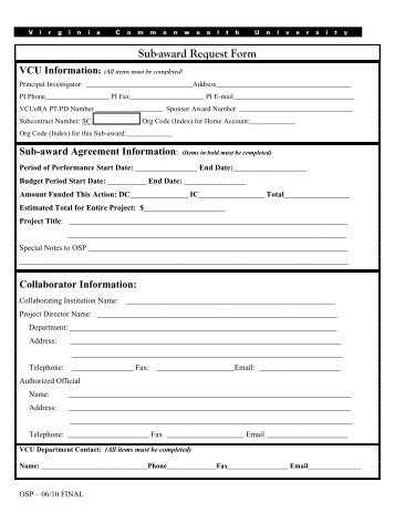 PBS Key Request Form - Business Office