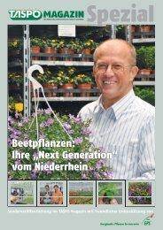 TASPO Magazin Spezial Beetpflanzen vom Niederrhein