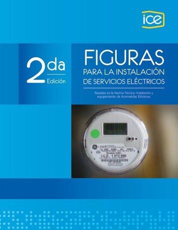 Figuras para la instalación de los servicios eléctricos - Grupo ICE