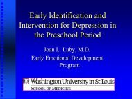 Early Identification & Intervention for Depression in the Preschool ...