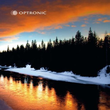 Optronic Annual report 2008-2009 (1511 Kb)