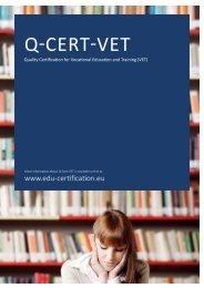 Q-Cert-VET Brochure