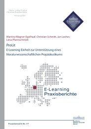 Praxisbericht 77 - ERCIS - European Research Center for ...
