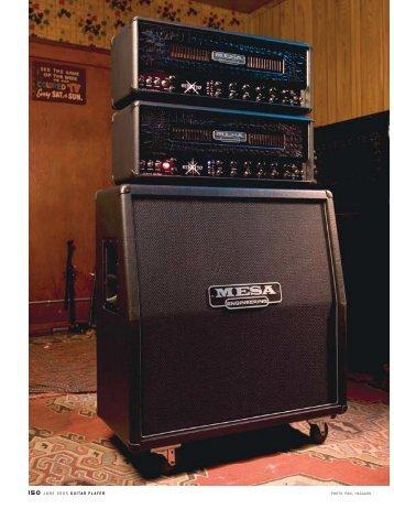 150 JUNE 2005 GUITAR PLAYER - Mesa Boogie