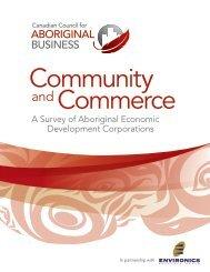 A Survey of Aboriginal Economic Development Corporations