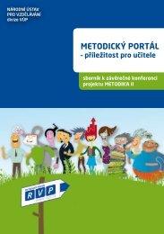 sborník ke konferenci Metodického portálu - Metodický portál RVP