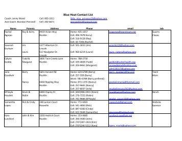 list of team sports