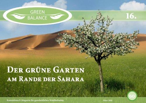 Der grüne Garten Der grüne Garten Der grüne Garten Der grüne ...