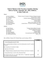 Draft of Minutes of the Executive Committee Meeting held on ...