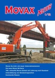 Movax Oy (Ltd.) als neuer Unternehmensname Die neue Movax SG ...