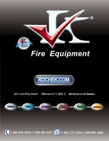 Kochek Company Inc. - 5 Alarm Fire and Safety Equipment