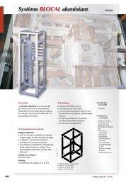 Système BLOCAL aluminium - Socomec