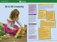 2D & 3D Creativity