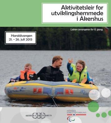 Aktivitetsleir for utviklingshemmede i Akershus - Norges idrettsforbund