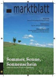 Sommer, Sonne, Sonnenschein - Markt Unterthingau