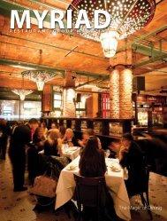The Magic of Dining - Myriad Restaurant Group